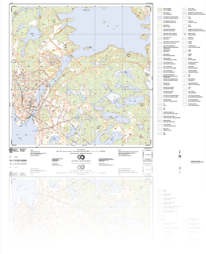 Ontario Base Maps LU Maughan Company Limited | Ontario Base Maps, National